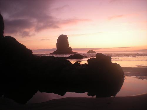 Sunset at Cannon Beach 09