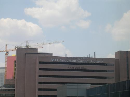 This is where we will help make cancer history!  Were we go for treatment...one of the buildings.
