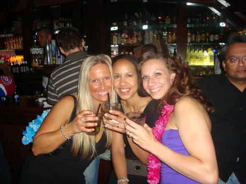 Shannon's Birthday.....me, Maria, and Shannon
