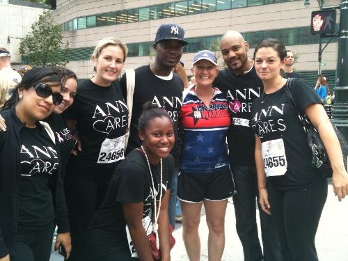 Tunnels to Towers, September 24th in NYC with all the amazing people from Ann Taylor