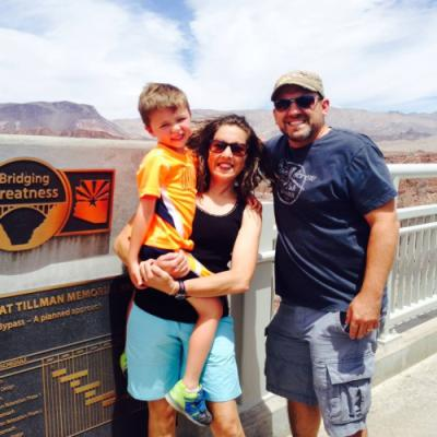 summer trip to Hoover Dam