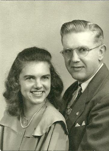 Isabelle and Gordy Mattson - 1948
