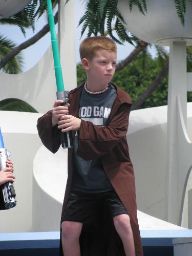 Jedi Knight Training at Disneyland.