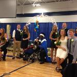 Senior Homecoming Court.
