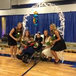Four amazing young women with Rachel...Megan Cummings, Amy Gasperlin, McKenna Janzen and Amber Matzoll