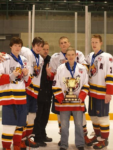 Adam and Barrie Colt Captains