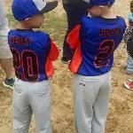 The Henry brothers on opening day <3