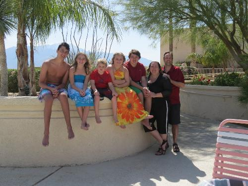 Harthorn Family, California 2012.