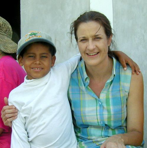 Our sponsor child in Honduras, Carlos.  This was also Jennie's obit. photo.  This picture was taken 7 years ago.  Carlos was murdered coming home with groceries in February.  Who would have guessed they would both be gone today?