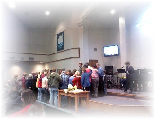 Our Church - surrounding us with Prayer!