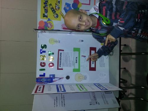 Trevors overall first place science fair project