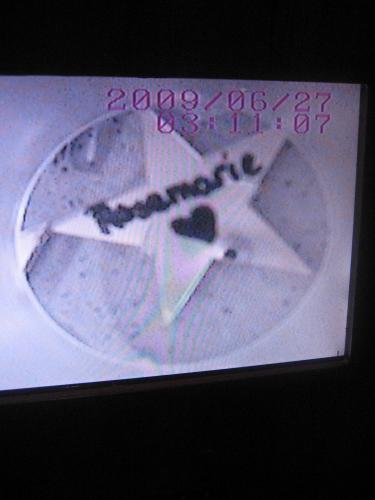 Rosemarie's star at Give Kids the World