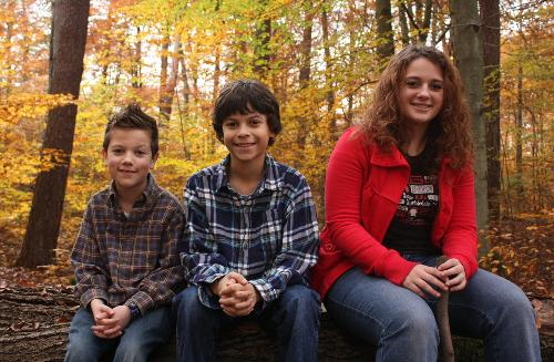 The 3 kids in Nov 2011