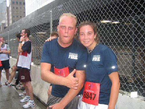 New York city Tunnel to Towers Run.