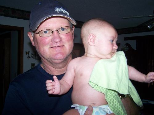 Papa and Oakley June 2012