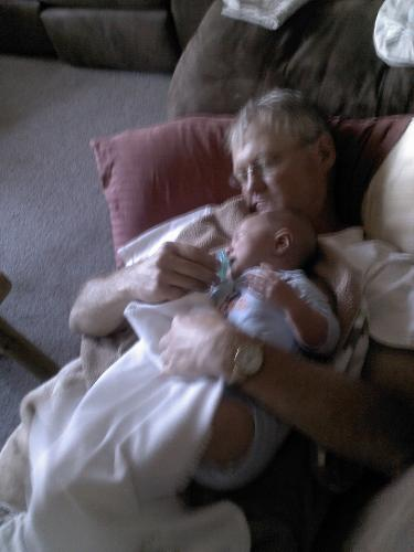 Papa Bruce and Oakley