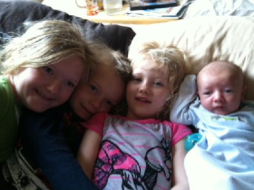 McKenna, Jaxon, Raegan and Oakley