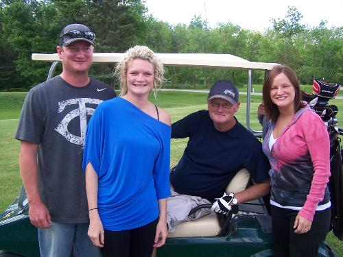 Sheldon, Katie, Bruce and Kristie  June 2012