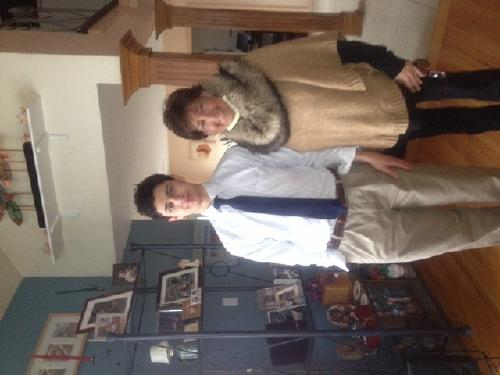 Eric and I. Not sure why these get sideways, but I cannot correct.