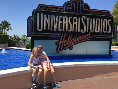 A little sightseeing at Universal Studios!