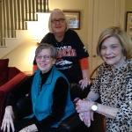 Libby, Ellen, and Doris enjoyed a short break in the action at the Super Bowl party this year. Libby sure had more fun than last year, so that made it more fun for All of us, (and a Bronco victory helped too!) 2-8-16