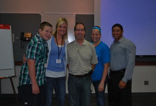 We were invited to Cardinal Health on 9 Aug 2012 to give a presentation on Zach's VBF Fundraiser!
