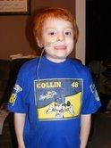 Collin's Mickey Mouse as Jimmie Johnson shirt