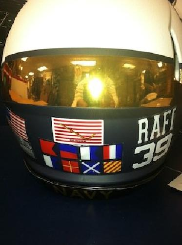 Navy Football helmet for Army-Navy game.