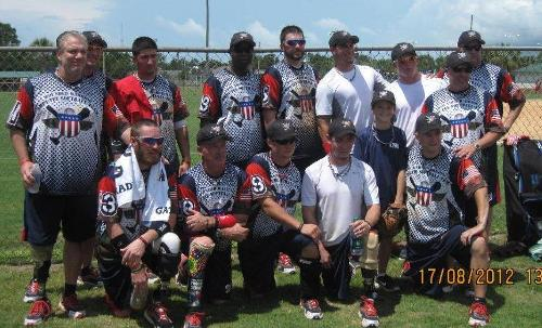Wounded Warrior Aug 2012 in Panama City, FL.