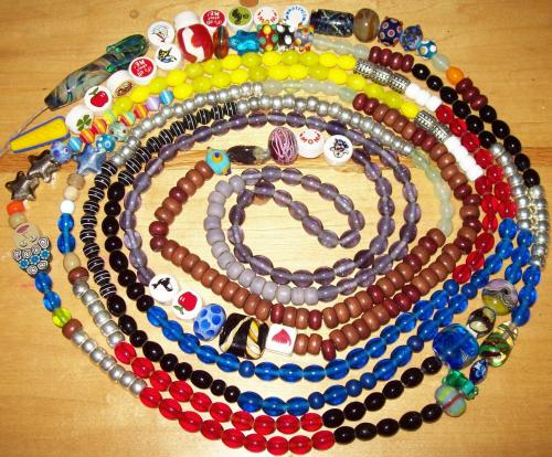 All Taylor's beads of courage,2009
