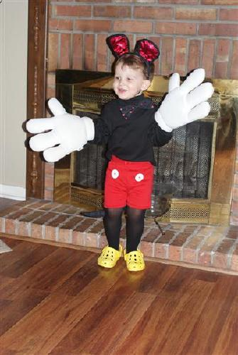 Chandler is Mickey Mouse