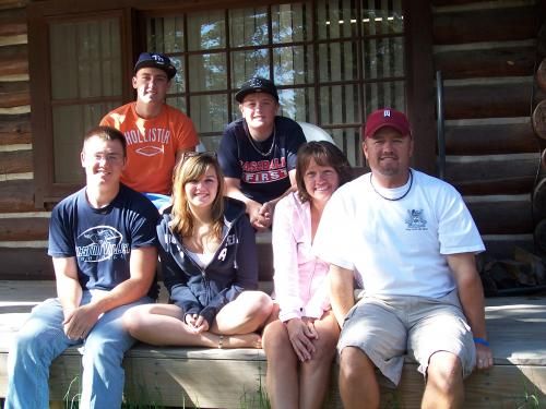Grand Lake Family Pic