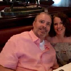 Out for 12th wedding anniversary at The Capital Grille. Yes they had amazingly great steaks and seafood.