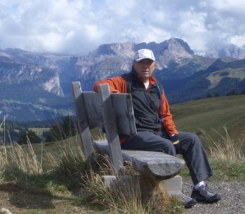 Hiking in the Dolomites--September 2012