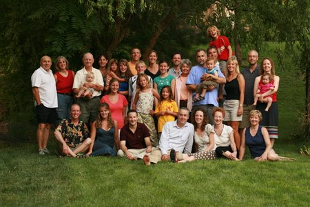 Family Reunion in Springdale, Utah--July 2007
