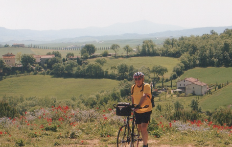 Our first self-guided cycling tour--Tuscany, Italy