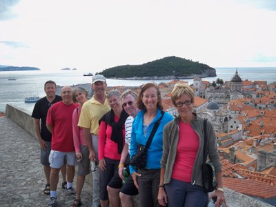 Dubrovnik, September 2010--Greg, John, Beth, Joe, Gretchen, Alan, Lea Anne, Judy
