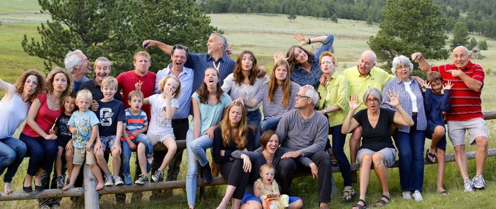 Family Reunion in Estes Park, July 2015