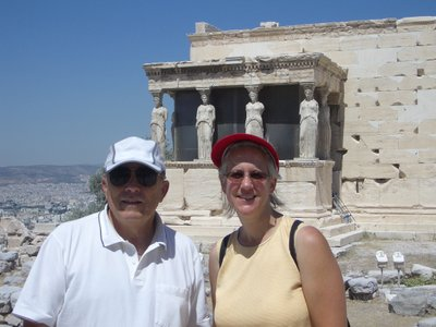 Athens, Greece--at the Acropolis--September 2009