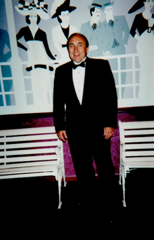 Assistant Principal at Lincoln High School, May 2000 (Prom Night!)