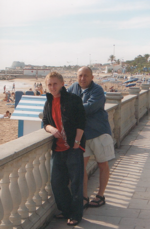 Ian & John--Sitges, Spain--October 2005