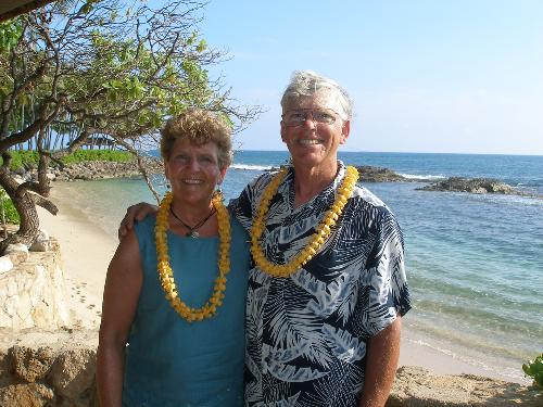 Terrea and Nelson in Hawaii 2007