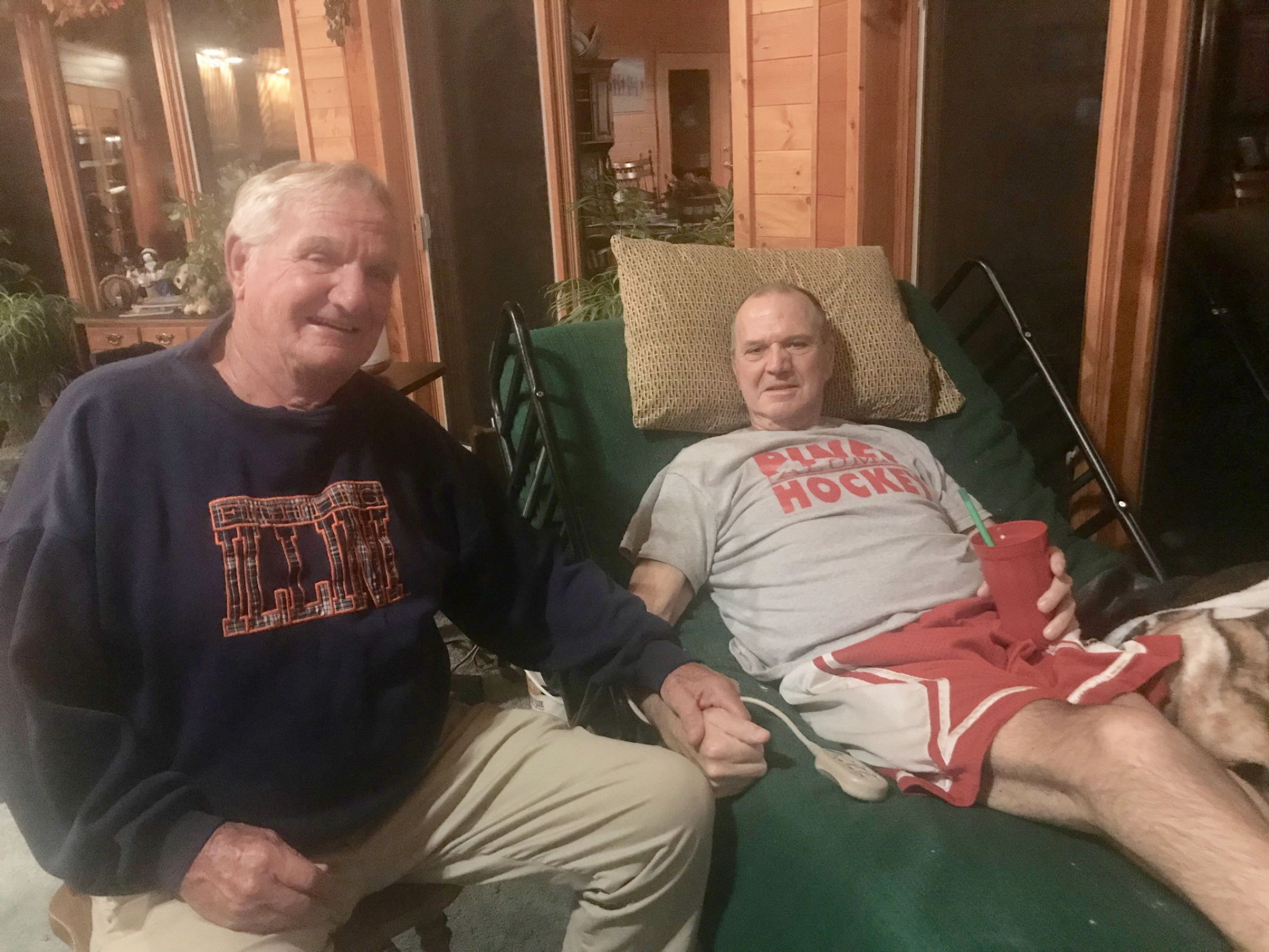 Brother Larry and Chuck share special memories
