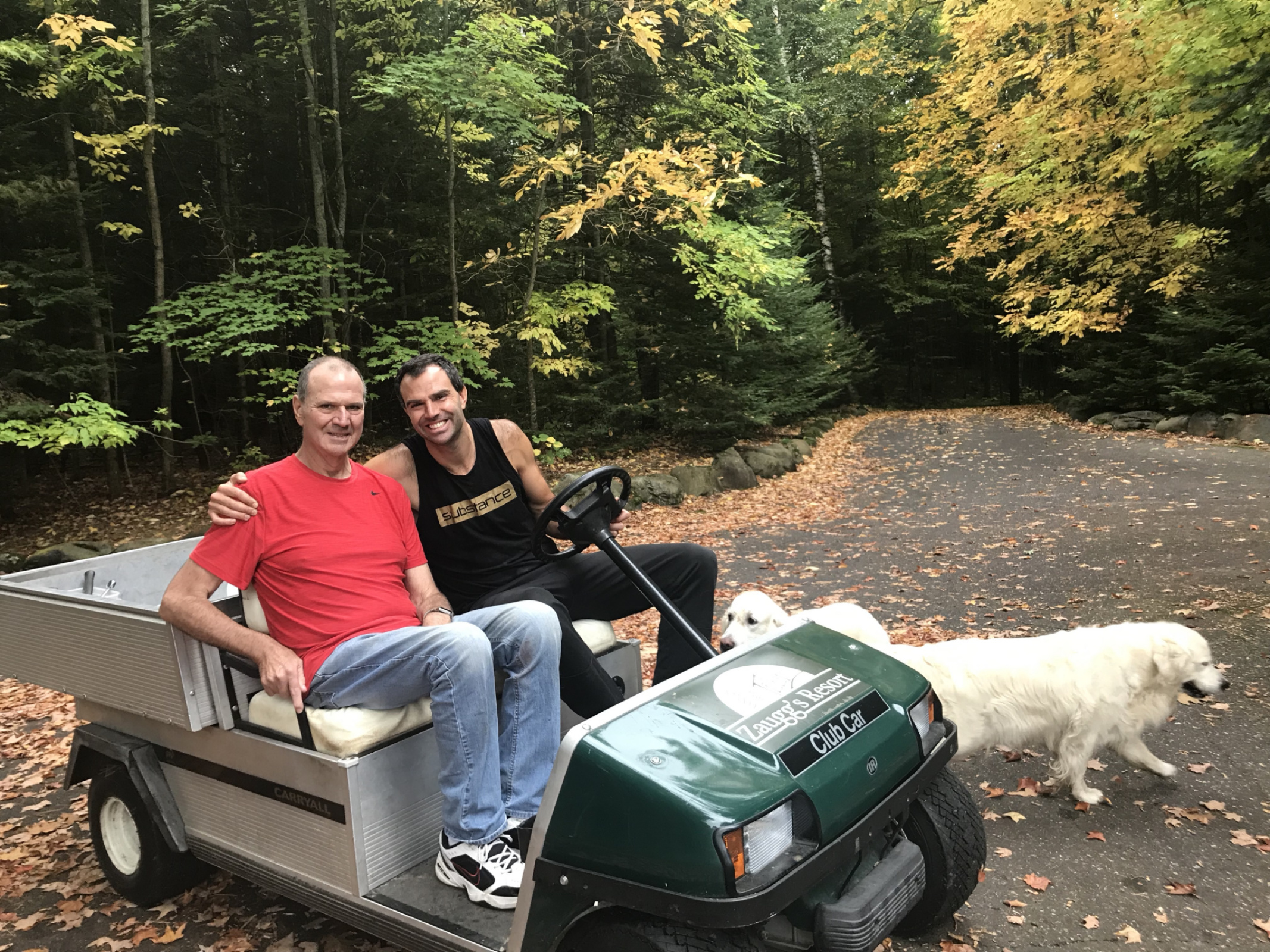 Jeff takes his dad for a ride while Bella and Breezy try to join them!