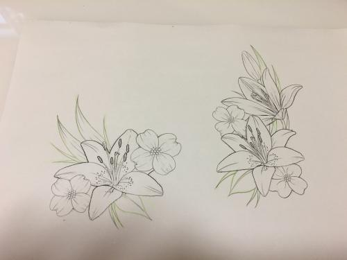 This is the tattoo I will be getting after all of this is done!! I'll probably have a little color added too.