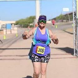 Running with a deadly brain tumor