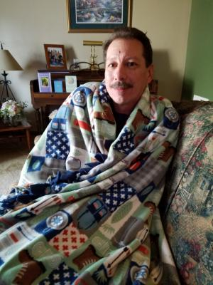 Thanks Katie for the blanket!