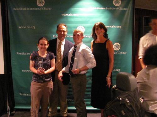 8/2010 Mandy wins the Juan Arreola Spirit of the Camp Award