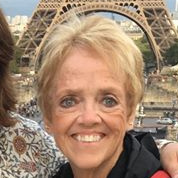 Mom in Paris. First time in Europe and she had the time of her life!!