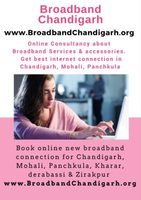 Connect broadband service in chandigarh, Panchkula & Mohal